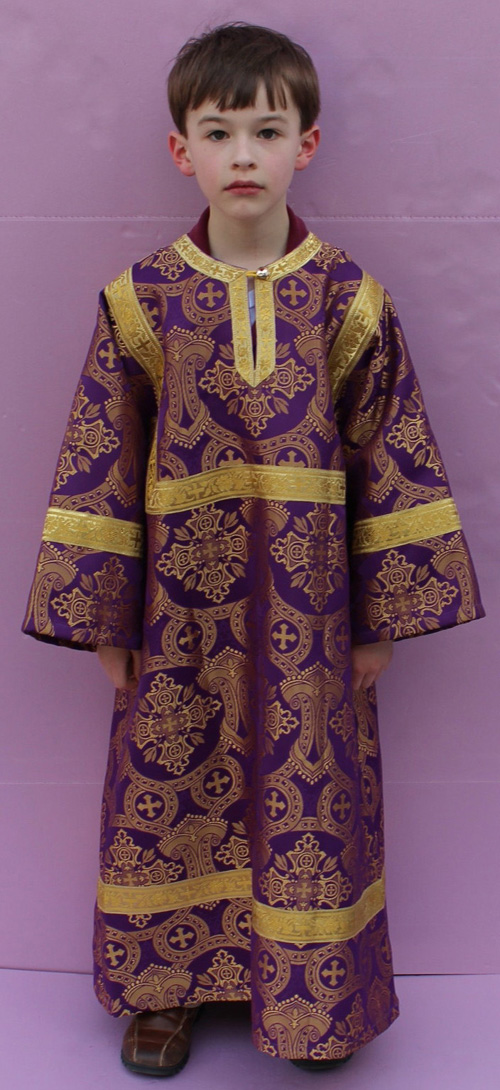 V-679 Purple/Gold (Click on photo for details)