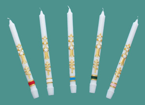 55-6S Decorated Candles
