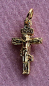 C-32g 14kt Gold (Mini Cross with Corpus)