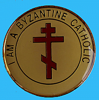 C-127 I AM A BYZANTINE CATHOLIC MAGNET