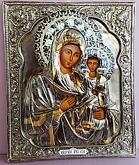 IC-752 Theotokos & Child Icon
