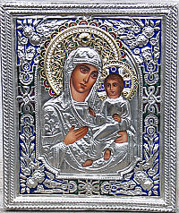 IC-530 Our Lady of Iviron Icon