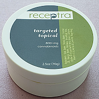 Receptra Targeted Topical 800mg CBD