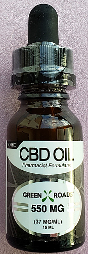 GRW CBD Oil 550mg