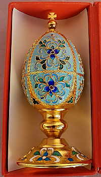 Russian Enamel Egg