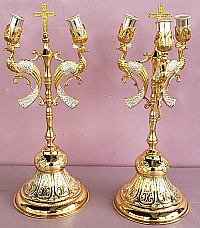 BCS-1 Bishop Candlesticks