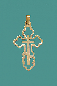 C-95G 14kt Gold Cross
