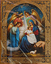 IR407 Nativity Icon